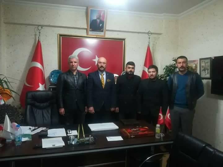 ÜLKÜ OCAKLARIN'NDAN YENİ BAŞKAN KILIÇASLAN'A ZİYARET