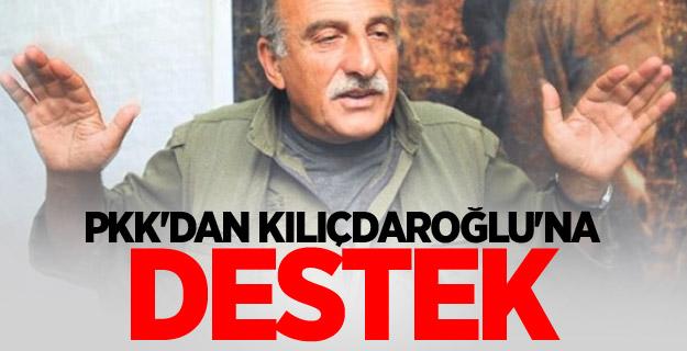 PKK'dan Kılıçdaroğlu'na destek