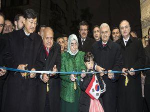 Başbakan Yıldırım Büyükelçilik Binasını 'Ayla' İle Açtı