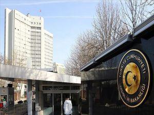 Türkiye ABD'nin Kudüs'ü İsrail'in Başkenti Olarak Tanımasını Kınadı