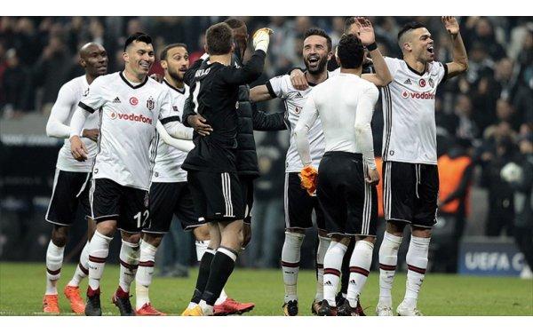 Şampiyonlar Ligi'nde Para Basan Beşiktaş, Yedekleriyle de Farklı