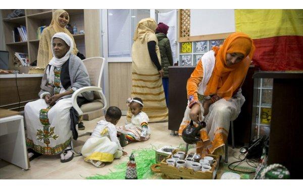 İstanbul'da Etiyopya Kültürünü Yaşatmaya Çalışıyorlar