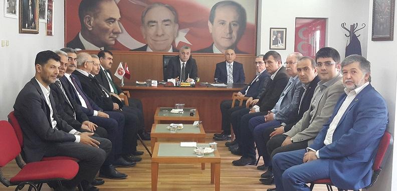 MHP'li Sertan Duran: Hizmet için Gece-Gündüz ayaktayız