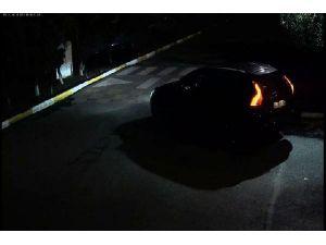 Ahmet Hakan'a Saldırı... Şüpheli Araç Güvenlik Kamerasında