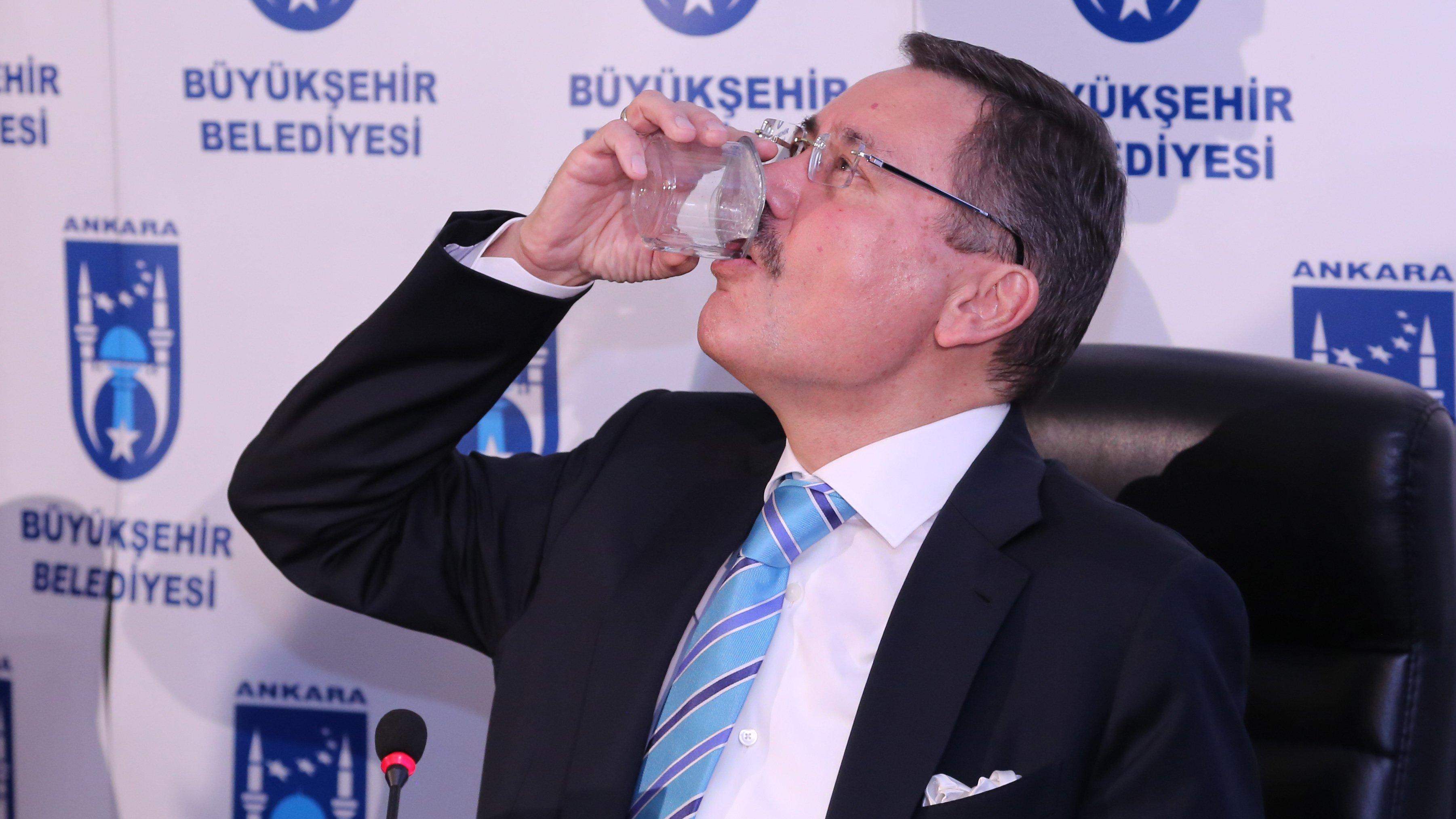 Melih Gökçek'in ardından Ankara'da su faturalarında indirim