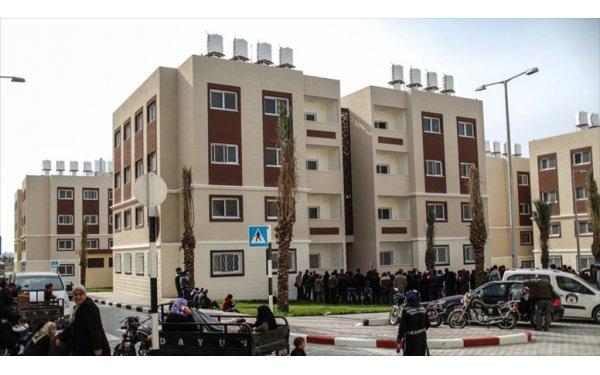 Gazzeliler Türkiye Tarafından Yaptırılan Konutlarına Kavuştu