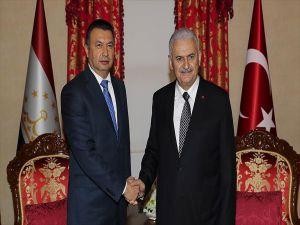 Başbakan Yıldırım, Tacikistan Başbakanı Rasulzoda İle Görüştü