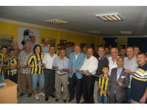 Bafra'da Fenerbahçeliler Derneği Şubesi Açıldı
