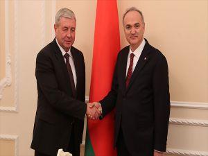 Bakan Özlü, Belarus Başbakan Yardımcısı Semashko İle Görüştü