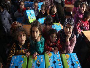 İhh'dan Suriye'deki Yetim Çocuklar İçin Anaokulu