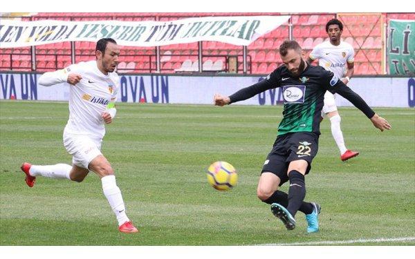 Akhisarspor (0-2) Kayserispor