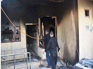 Ikby'deki Gösterilerde Parti Merkezleri Ateşe Verildi