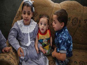 Filistinli Engelli Kardeşlerin Tedavisi Türkiye'de Yapılacak
