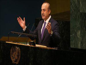 Dışişleri Bakanı Çavuşoğlu: Bugün Adalet Ve Barış İçin Sesimizi Yükselteceğiz'