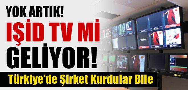 AKP BUNADA İZİN VERDİ IŞİD TV KURULUYOR !