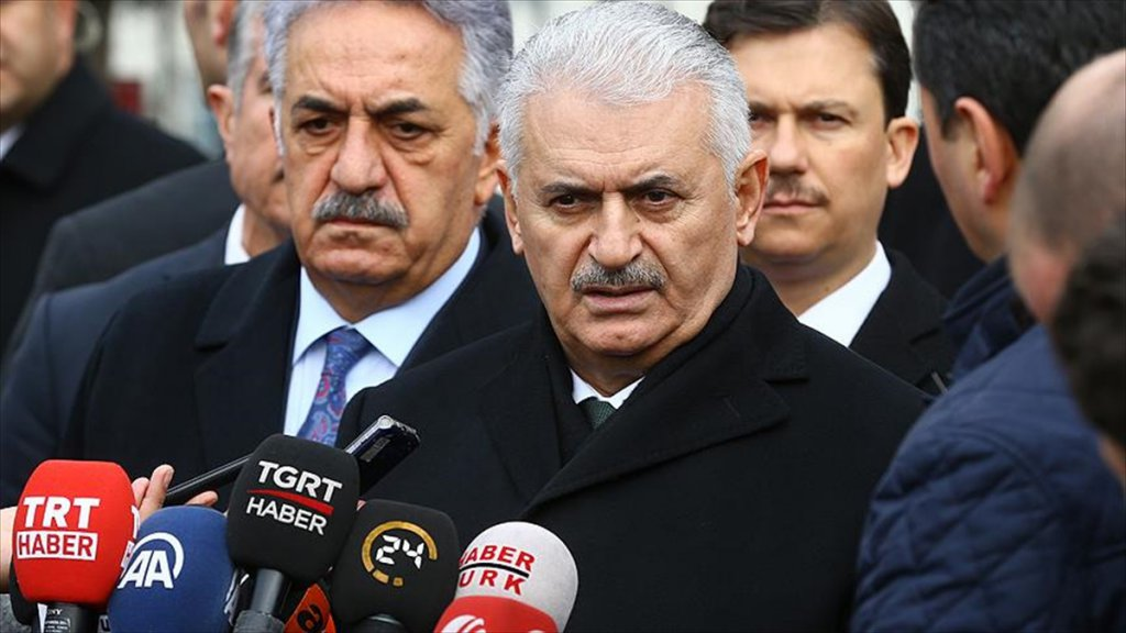 Başbakan Yıldırım: Bm Kararı Abd'ye Açık Bir Mesajdır