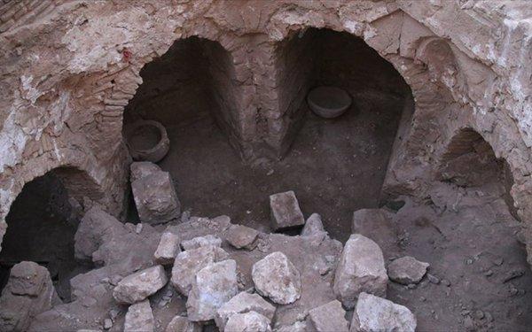 Harran'da 900 Yıllık Hamam Bulundu