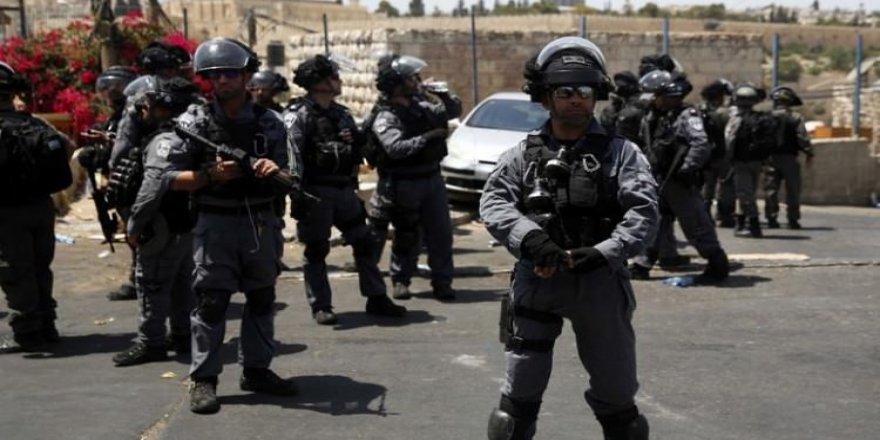 İsrail polisi Türklere saldırdı!