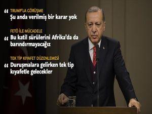 Cumhurbaşkanı Erdoğan: Trump İle Görüşme İle İlgili Verilmiş Kararım Henüz Yok