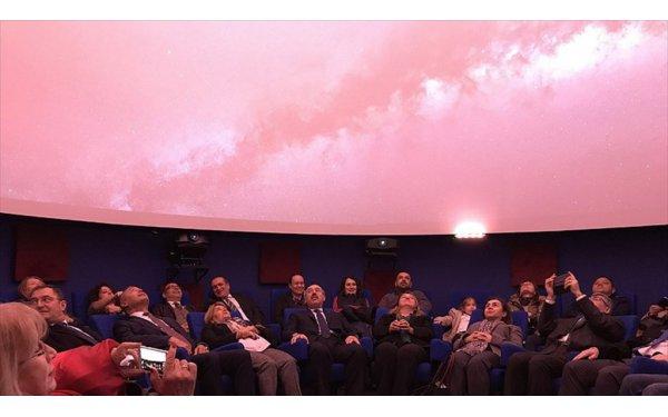 Türkiye'nin İlk 4K Çözünürlüklü Planetaryumu Açıldı