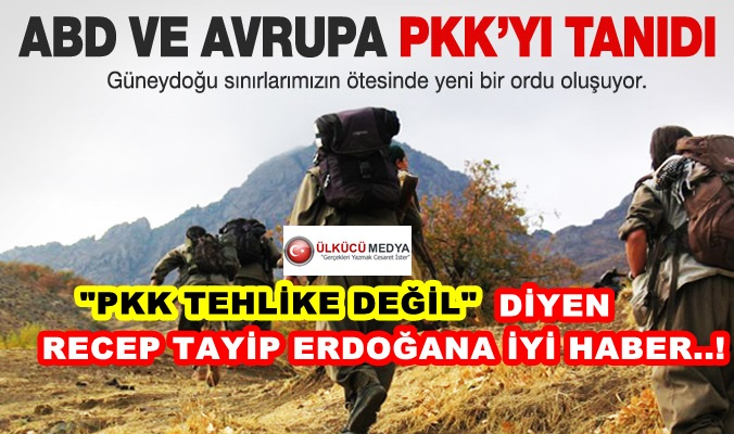 PKK GÜNEYDE ORDU KURUYOR...!