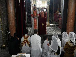 Diyarbakır'ın Tarihi Sur İlçesinde Noel Ayini Yapıldı