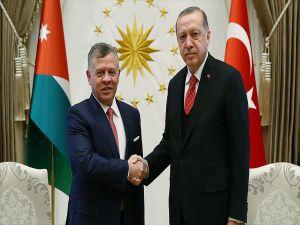 Cumhurbaşkanı Erdoğan, Ürdün Kralı Abdullah İle Kudüs'ü Görüştü