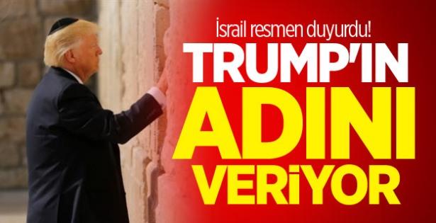 İsrail'den Trump'a Teşekkür: Adı Ağlama Duvarı Yakınındaki Tren Garına Verilecek