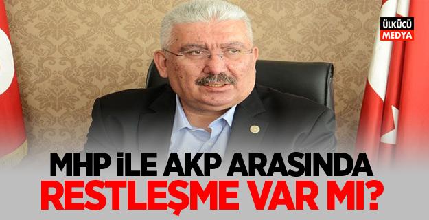 MHP ile AKP arasında restleşme var mı?