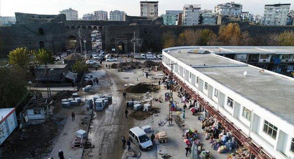Diyarbakır Sur 'Prestij' Caddesine Kavuşuyor