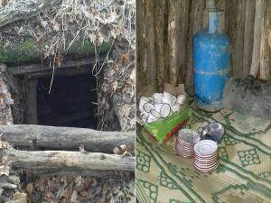 Muş'taki Terör Operasyonunda Yaşam Malzemeleri Ele Geçirildi