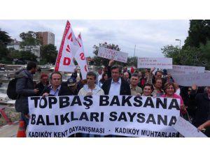 """Kadıköy Kent Dayanışması """" Kurbağalıdere'de Balık Falan Görmedik"""""""