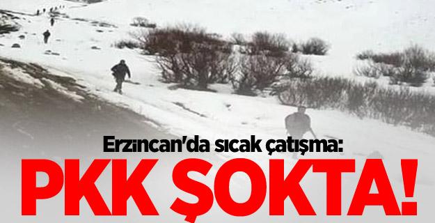 Erzincan'da sıcak çatışma: PKK şokta!