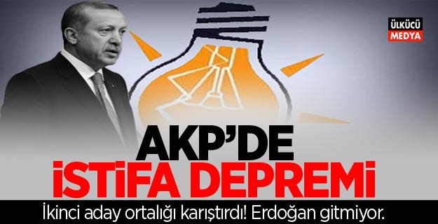 AKP'de istifa depremi! İkinci aday ortalığı karıştırdı