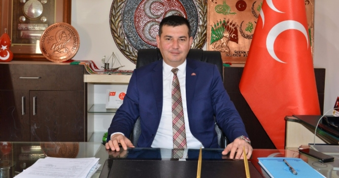 MHP Alanya İlçe Başkanı Mustafa Türkdoğan'dan 2018 mesajı