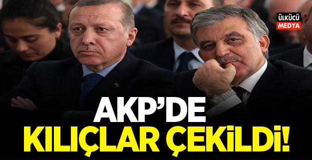 AKP'de kılıçlar çekildi!