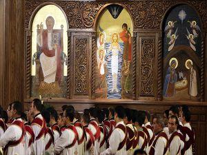Ortadoğunun En Büyük Ortodoks Katedrali Kahire'de İbadete Açıldı