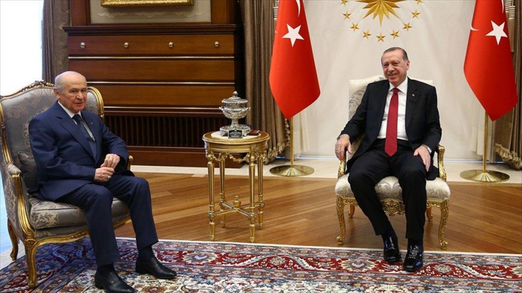 Erdoğan Bugün Bahçeli İle Görüşecek