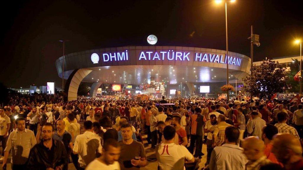 Fetö'nün Atatürk Havalimanı'nı İşgal Girişimi İddianamesi Kabul Edildi