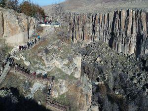 Kapadokya'nın Gözdesi Ihlara Vadisi'ne Ziyaretçi Akını