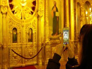 'Demir Kilise'ye Ziyaretçi İlgisi