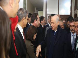 Bahçeli'den Osmaniye'de Belediye Ve İl Başkanlığı Ziyareti