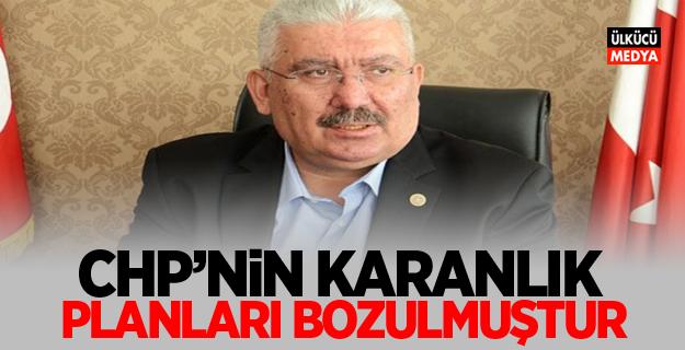 MHP'li Semih Yalçın: CHP'nin karanlık planlarını bozulmuştur