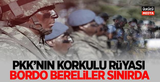 PKK'nın korkulu rüyası bordo bereliler sınırda