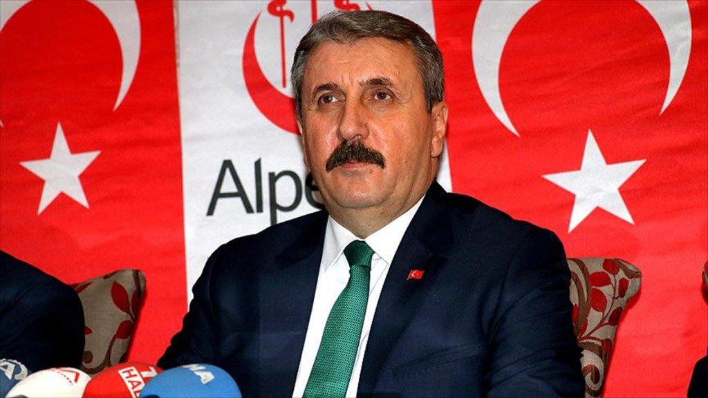 BBP Genel Başkanı Destici'den 'Afrin' Açıklaması