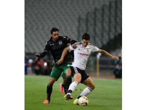 Beşiktaş - Sporting Lizbon Maçının İlk Yarı Fotoğrafları