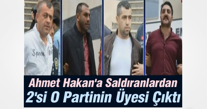 Ahmet Hakan'a Saldıranlardan 2'si AKP'nin Üyesi Çıktı