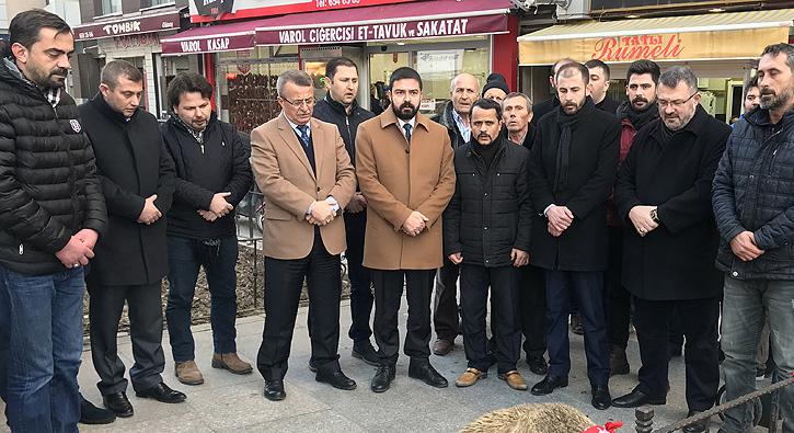 MHP, Zeytin Dalı Harekatı Şehitleri İçin Kurban Kesti