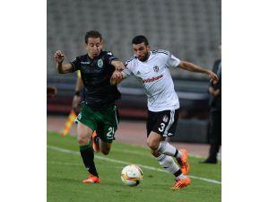Beşiktaş - Sporting Lizbon Maçının İkinci Yarı Fotoğrafları