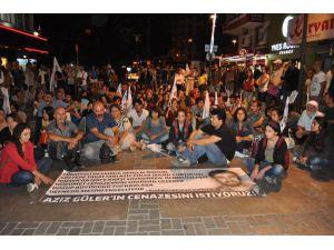 Barış Bloğu Üyelerinden Kobani'de Ölenler İçin Oturma Eylemi